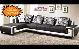 Ghế sofa góc dành cho phòng khách .