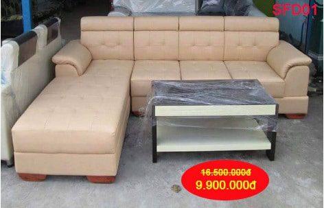 Sofa góc phòng làm việc