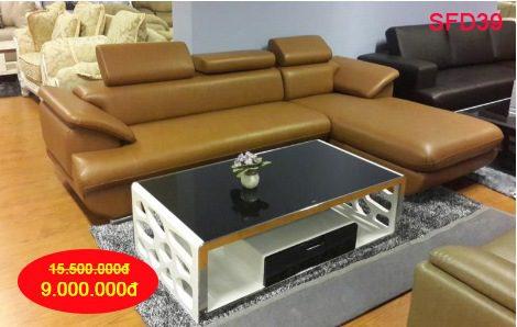 Sofa góc và bàn trà - cặp đôi hoàn hảo của zSofa