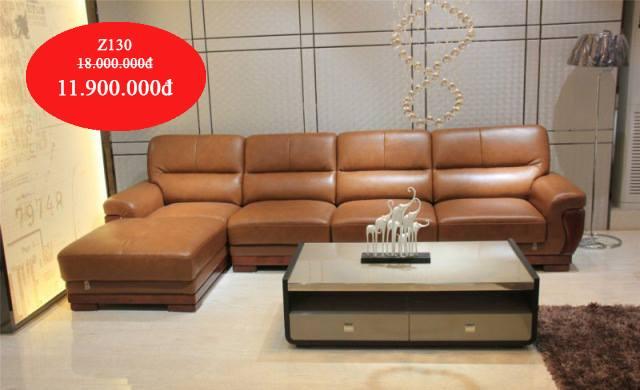Ghế sofa góc cho phòng khách lớn