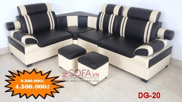 Bộ ghế sofa nhỏ gọn dành cho phòng khách