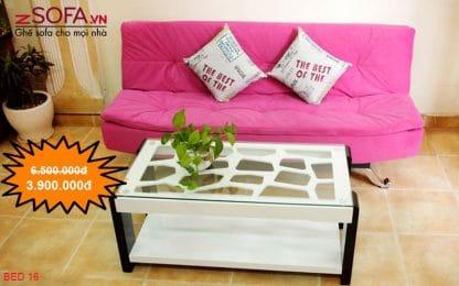 Sofa bed ( sofa giường) BED16 và bàn trà phòng khách