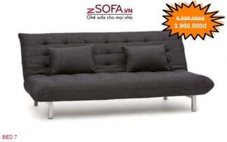 Ghế sofa bed màu đen của zSofa