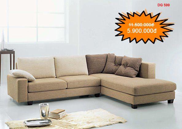 Ghế sofa giá rẻ DG599