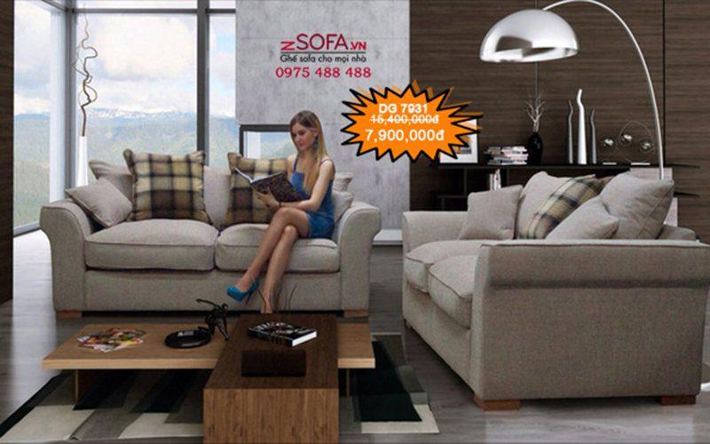 Sofa cao cấp Châu Âu DG7931