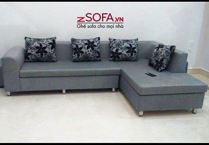 Ghế sofa da thật đẹp của phòng khách