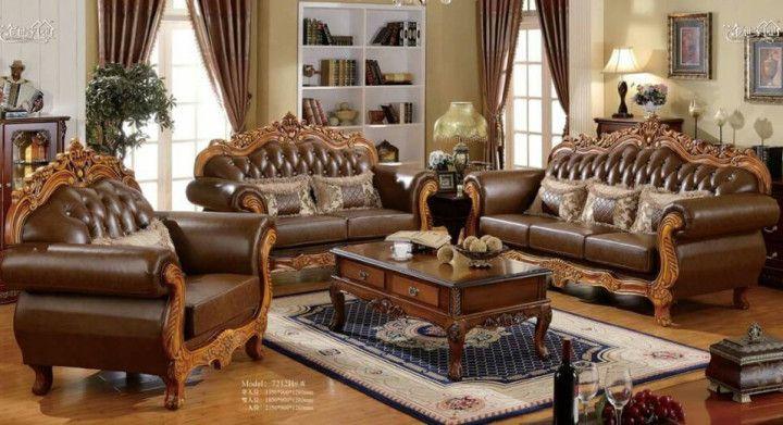 Ghế sofa cổ điển cho phòng khách của zSofa