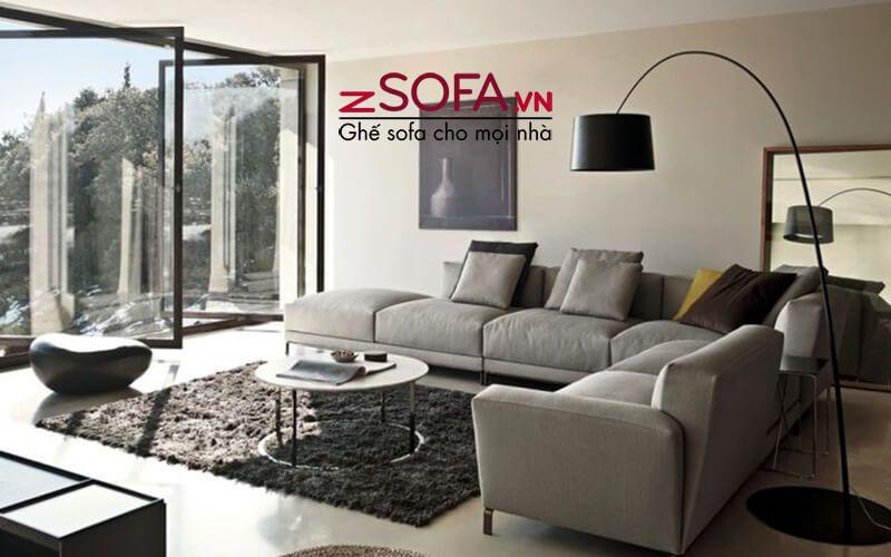 Ghế sofa chữ l - kiểu dáng ghế tiện dụng của zSofa