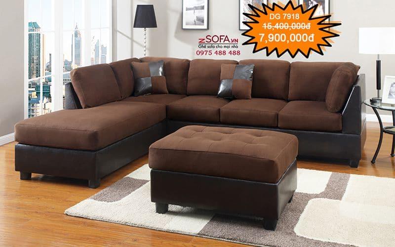Sofa góc phong cách retro zSofa