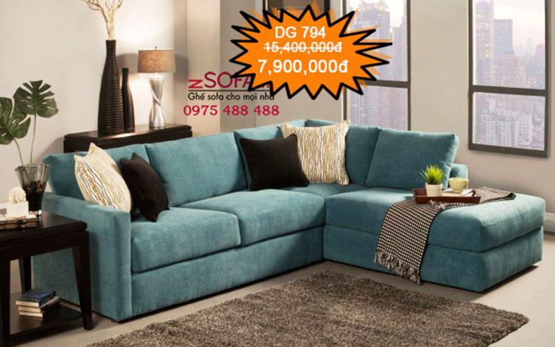 Ghế sofa nhỏ gọn cho phòng khách nhỏ
