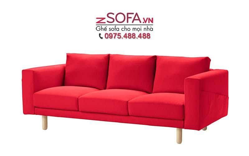 sofa mau do quyen ru cho phong khach