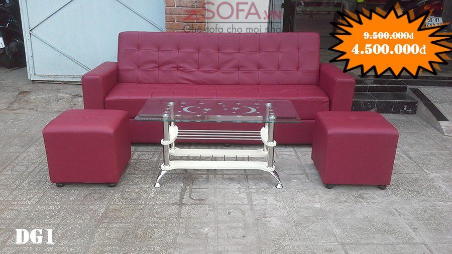 Sofa da giá rẻ và nem ghe sofa mau hong