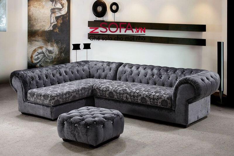 Sofa góc Châu Âu cao cấp ZM7039