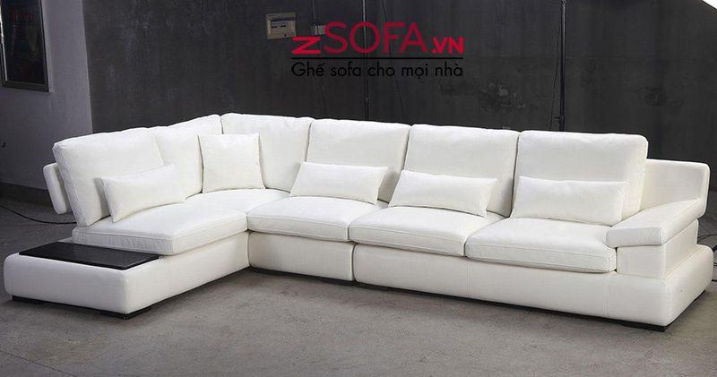 Ghế sofa màu trắng Châu Âu cao cấp