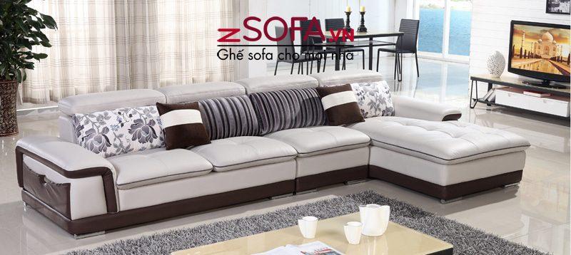 Sofa góc Châu Âu cao cấp ZM7061 bán tại zSofa