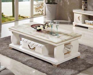 Bàn sofa mặt đá nhập khẩu Ý-JBT204