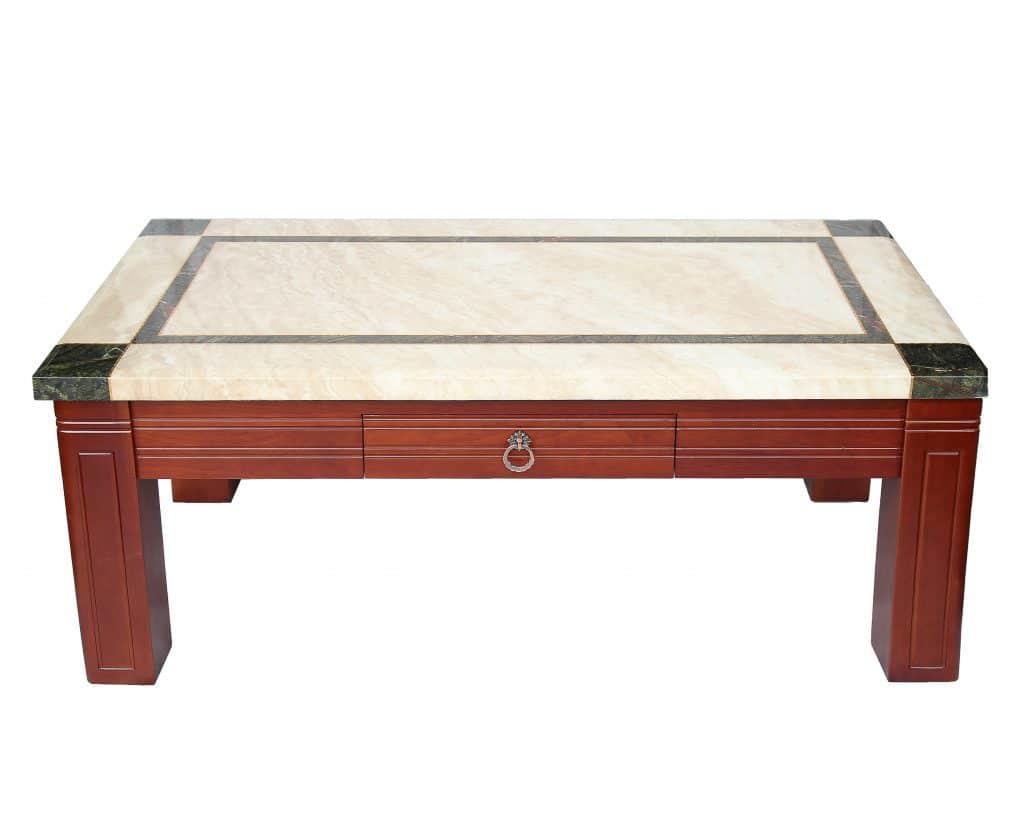 Bàn sofa mặt đá nhập khẩu Ý-JBT817
