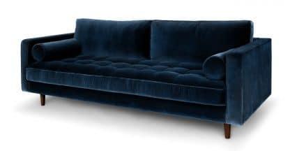 Sofa băng màu xanh đậm ZB2902