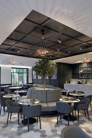 Ghế sofa quán cafe ZC001