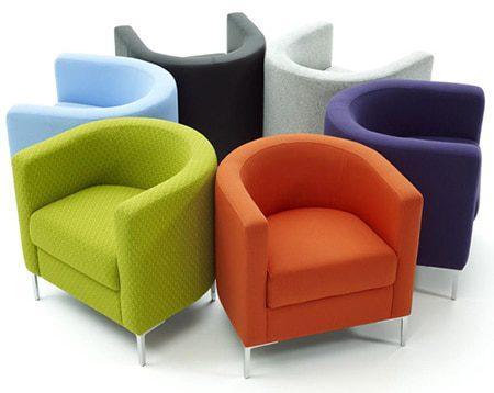 Ghế sofa quán cafe ZC007