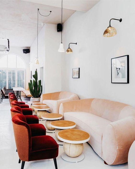 Ghế sofa quán cafe ZC034