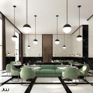 Ghế sofa quán cafe ZC036