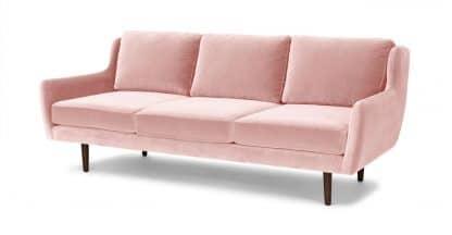 Sofa băng màu hồng ZB1201