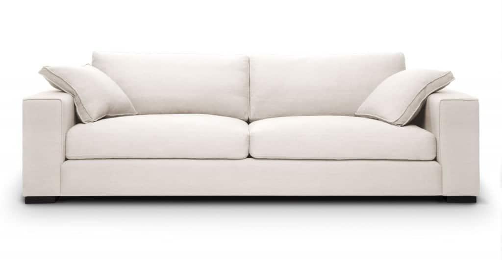 Sofa băng màu trắng xám ZB0712