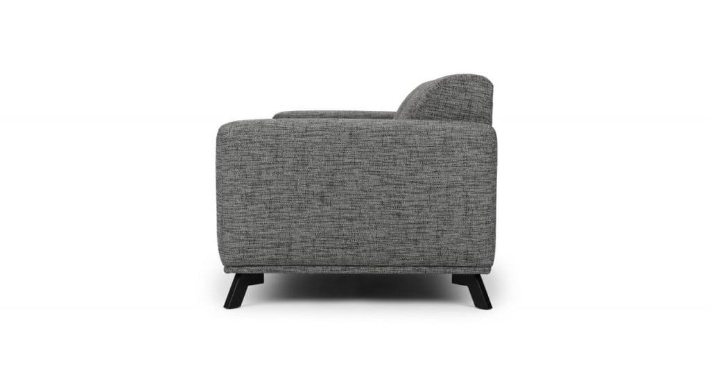 Sofa băng màu xám ZB1201