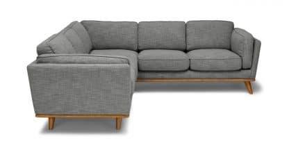Sofa khung gỗ góc chữ L màu Xám ZL1201