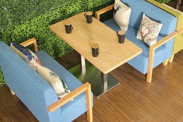 Ghế sofa quán cafe ZC022