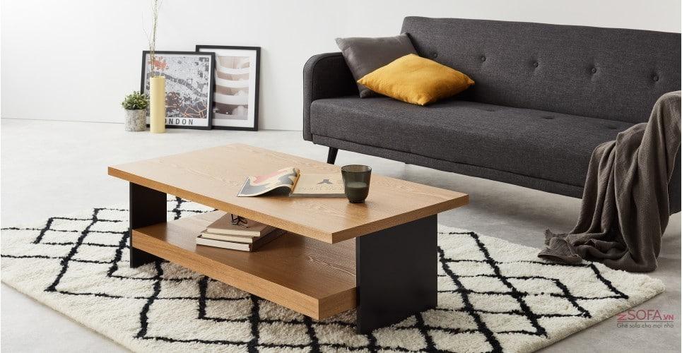 Mẩu bàn design được kết hợp với ghế tay chữ A