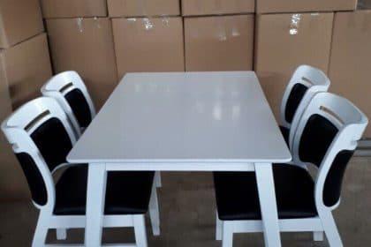Bàn ghế ăn Asley 4 ghế