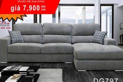Bàn ghế sofa nỉ hiện đại mua ở đâu mới tốt