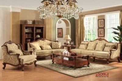 Bàn ghế sofa tân cổ điển giá rẻ tại zSofa