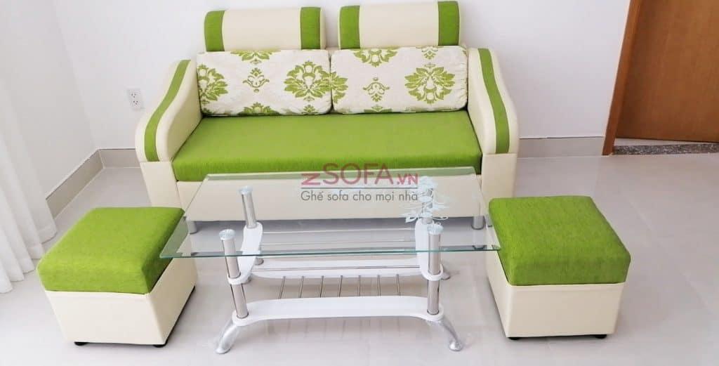 Bàn ghế sofa loại nhỏ