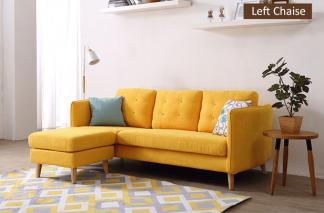 Sofa vải đẹp hiện đại - kiểu dáng ghế sofa đẹp sang trọng