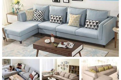 Sofa vải góc chữ L Z3013