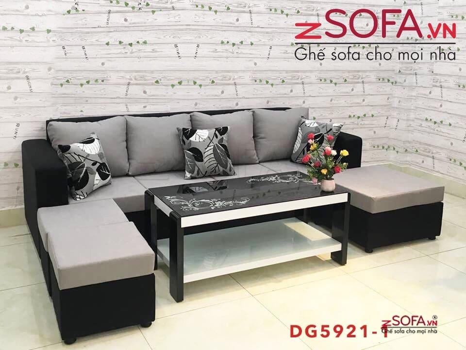Trọn bộ combo sofa vải