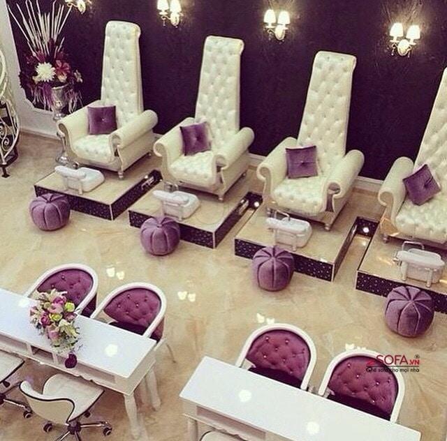 Ghế sofa đơn làm nail chất lượng cao tại TPHCM