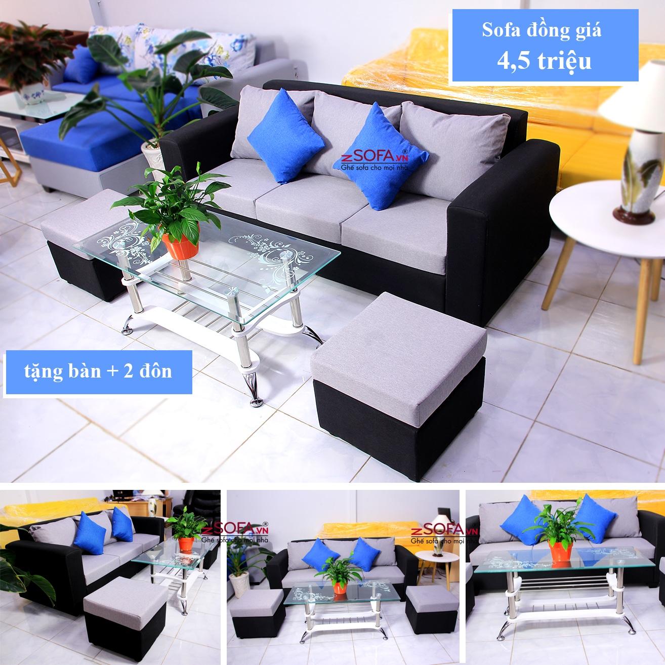 Sofa đồng giá 4,5 triệu DG4501
