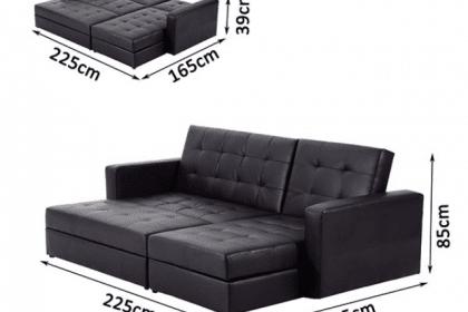 Ghế sofa tiện lợi dành cho phòng khách thêm thoải mái
