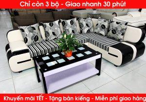 Sofa góc nhỏ gọn dành cho phòng khách nhỏ