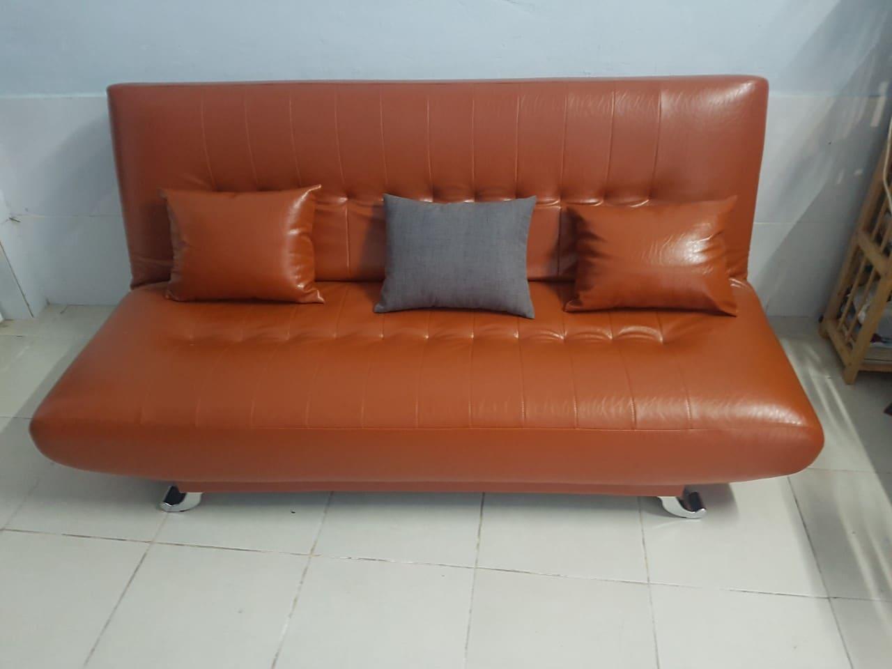 Sofa góc da- Hình ảnh bào giao cho khách hàng
