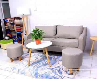 Ghế nệm dài - phong cách sofa mới cho phòng khách