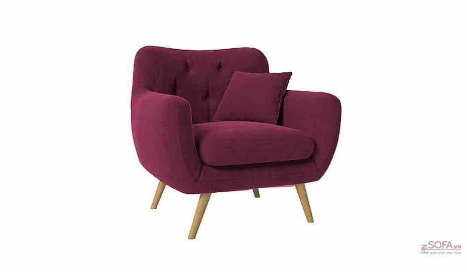 Ghế sofa đơn phòng ngủ - kiểu dáng sofa thu giãn tốt nhất