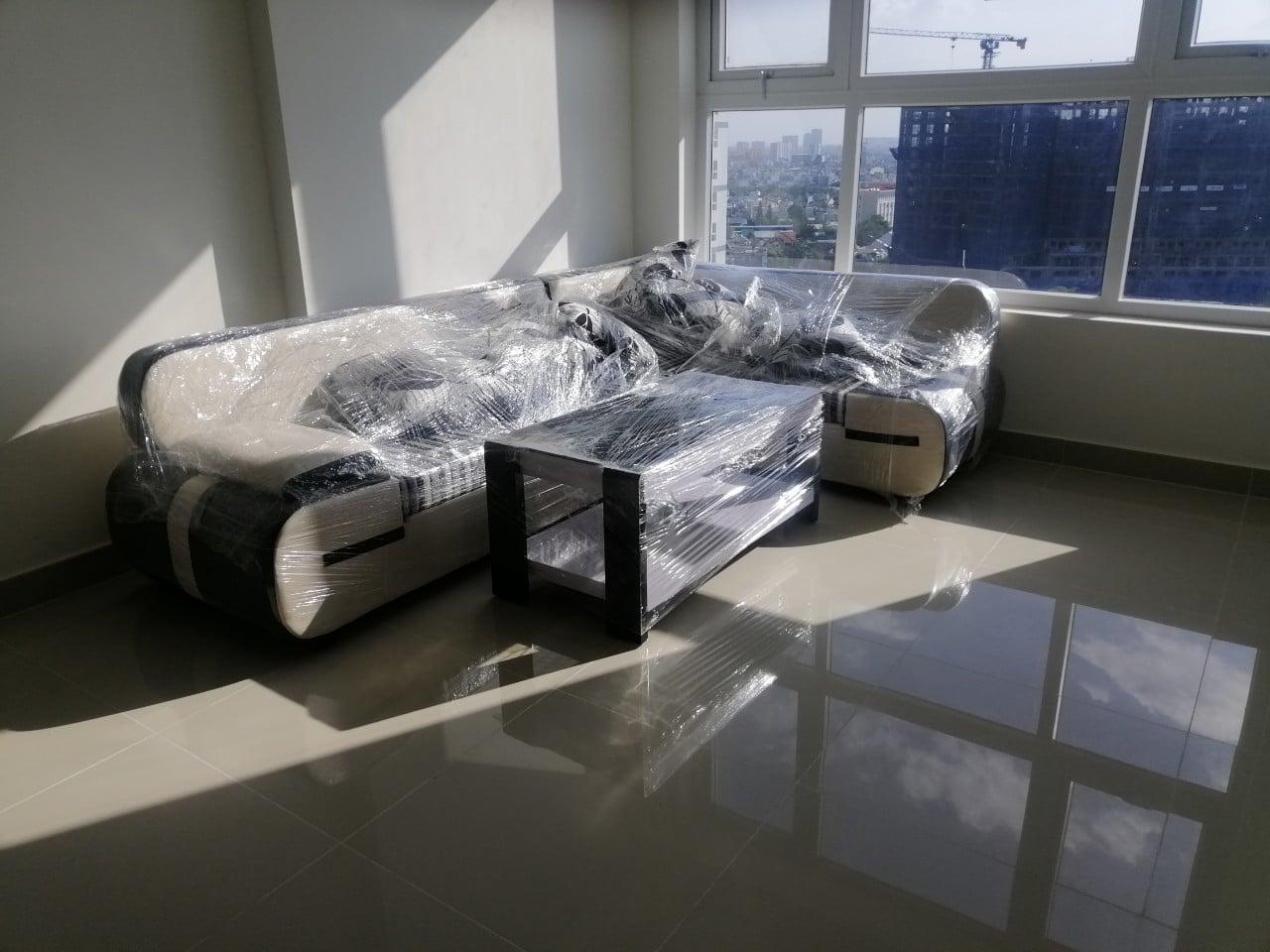 Sofa hiện đại sang trọng tại Long Xuyên- Hình ảnh bàn giao cho khách hàng