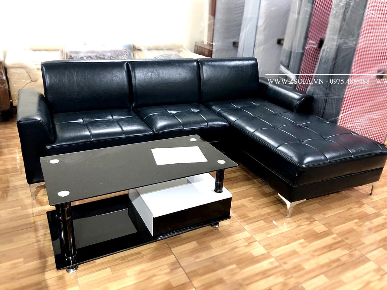 Sofa da cao cấp ZD005