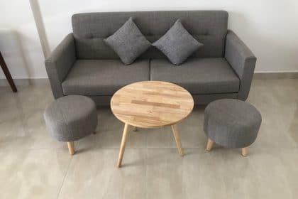 Sofa cafe giá rẻ- Hình ảnh bàn giao cho khách hàng