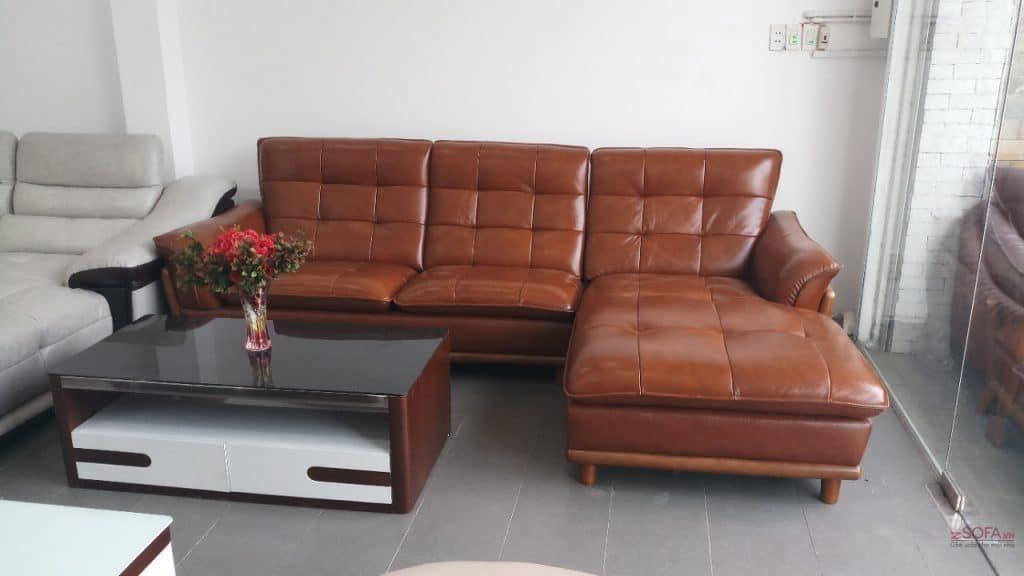 Bộ sofa da cao cấp từ doanh nghiệp ghế sofa hàng đầu